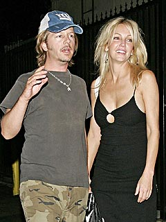 David Space se preocupa por Heather Locklear