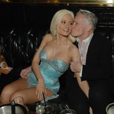 Holly Madison y Hugh Hefner terminaron su relación