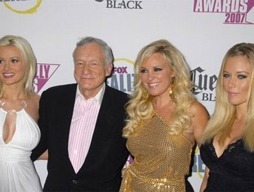 Hugh Hefner habla sobre su separación con Holly Madison