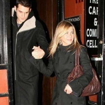 John Mayer y Jennifer Aniston en Nochebuena
