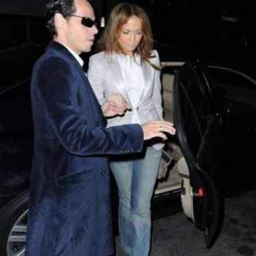 Jennifer Lopez y Marc Anthony salen a cenar