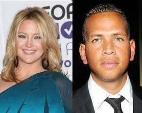 Alex Rodriguez tries his luck with Kate Hudson