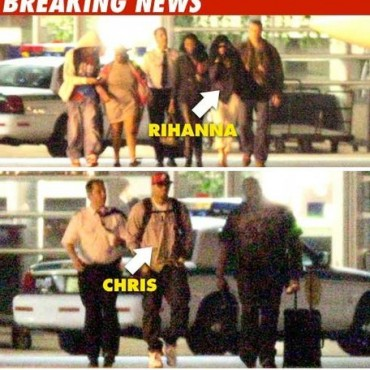 Fotos que muestran a Rihanna y Chris Brown juntos