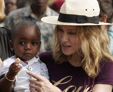 Madonna se reunió con Mercy James en Londres