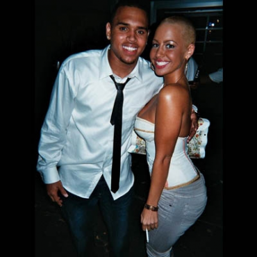 Chris Brown y Amber Rose juntos?