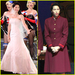Jessica Biel debutó en Guys and Dolls
