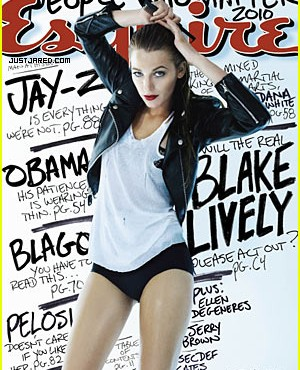 Blake Lively cubre Esquire