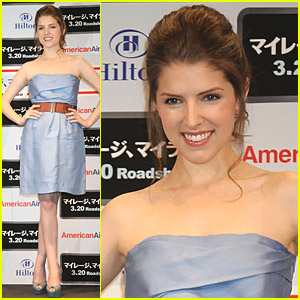Anna Kendrick promociona Up in the Air en Tokio