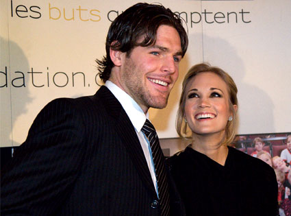 mike fisher y carrie underwood