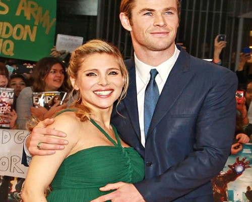 Elsa Pataky presume de embarazo junto a Chris Hemsworth
